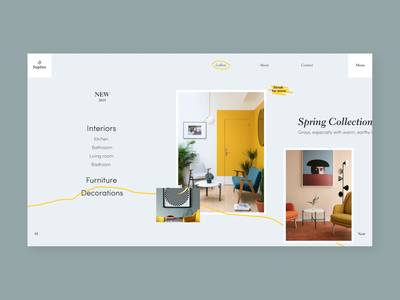 Supesu - Furniture store concept sketch gray branding logo interior chair ratio golden grid photography figma interface design wood furniture ux ui app web concept arounda