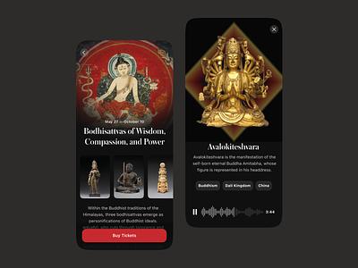 Museum Guide appdesign ui app mobile