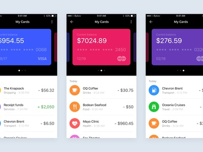 Wallet Concept - Sketch & Principle Freebie ux ui app motion interaction animation download sources sketch principle freebie