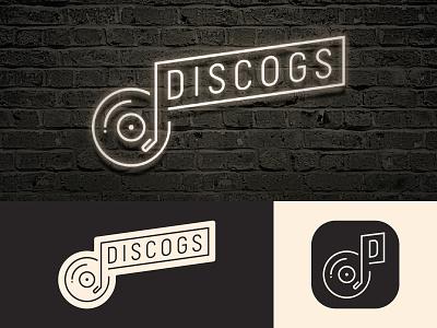 Discogs Rebrand vector discogs record vinyl branding design logo