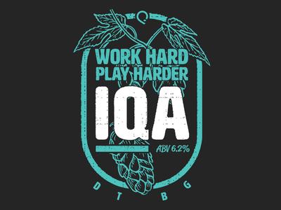 IQA Beer Label
