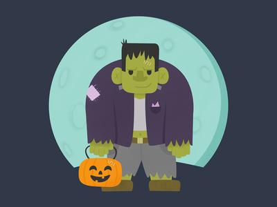 Frankenstein frankenstein halloween childrens lit kids illustration kid lit digital illustration childrens book vector art kids book childrens illustration illustration