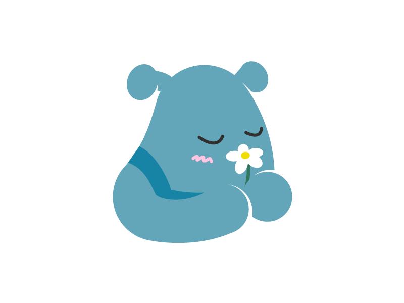 Bee Icon illustration vector icon logo design character