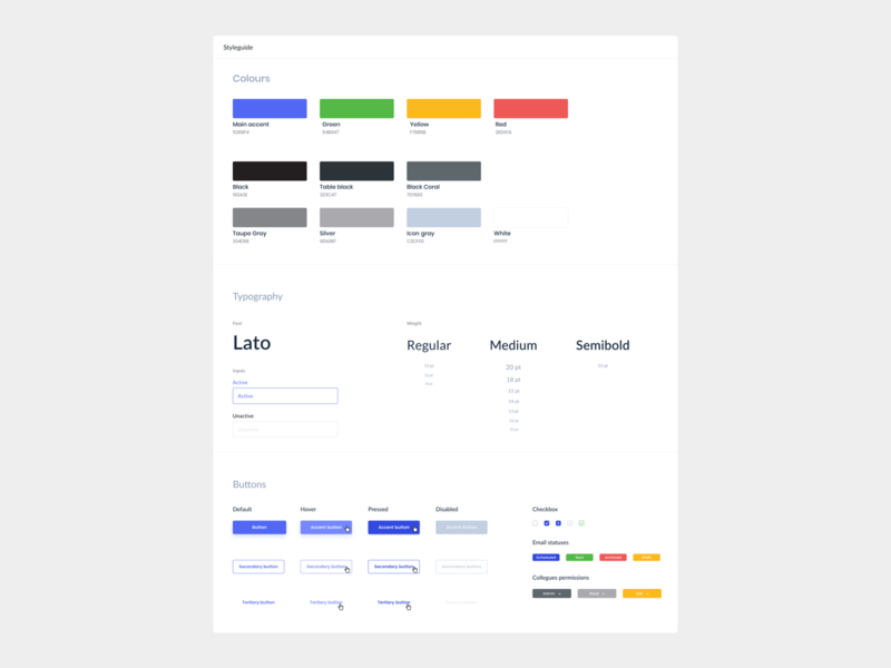 📊Style guide