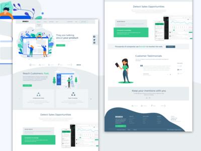 Brand24 - web UI