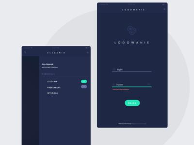 Shearcon - app UI