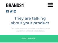 Design mobile brand24