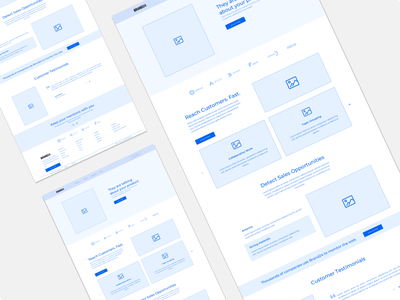 Brand24 - Wireframes kit wireframe kit design wireframing wireframe kit wireframes wireframe perspective mockup minimal information ux clean typography