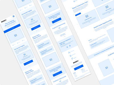 Brand24 mobile wireframe mobile wireframe design wireframe kit wireframes wireframe vector brand24 homepage redesign information clean typography ux minimal