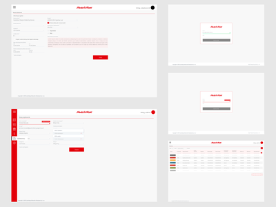 UX/UI Media Markt  🥳 redesign media markt wireframes high-fidelity information minimal typography ui  ux product crm software art direction management information system dashboard ui system erp crm ui