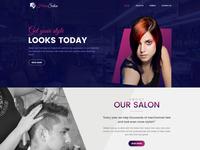 Hair Dresser Web Templates