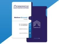 Chronicle Business Card