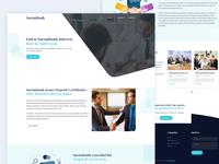Sacombank financial advisory web design