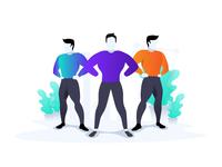 fitness model/Superhero