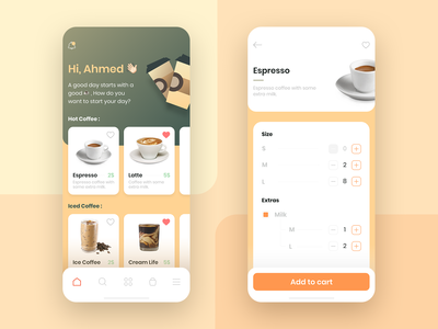 Get Coffee app