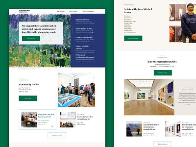 Homepage Design homepage branding ui