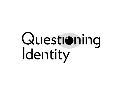 Type Treatment san serif modern identity logo simple o eye typography type