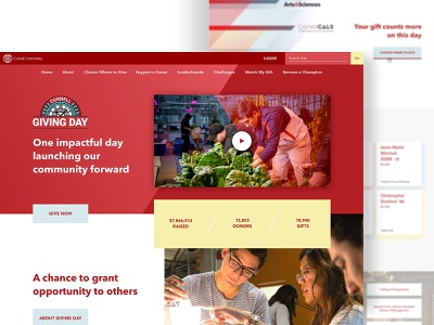 Ui Design simple red desktop design website ux ui