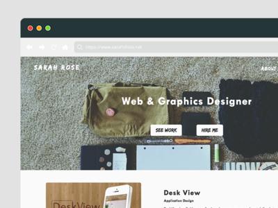 Portfolio Site Relaunch
