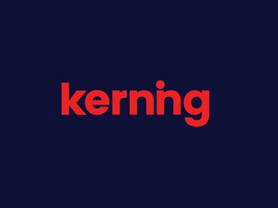 Kerning Logo