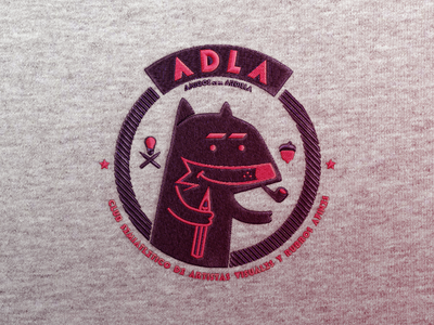 ADLA Badge logotype