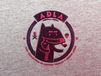 ADLA Badge logotype