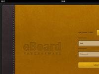 eBoard app for iPad