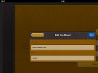 eBoard app for iPad - Edit a Board