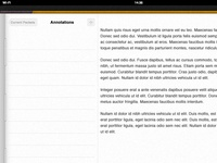 eBoard app for iPad - Annotations