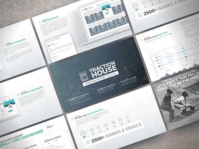 Executive HR Technology Platform Pitch pitch deck creative direction branding conference design presentation powerpoint