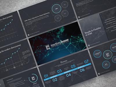 Digital Marketing Firm Sales Deck pitch deck creative direction branding conference design presentation powerpoint