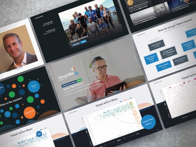 ETF Provider Webinar Series EP03 pitch deck creative direction branding conference design presentation powerpoint