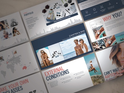Create Your Own Sunnies Campaign ui logo illustration presentation powerpoint pitch deck design creative direction conference branding