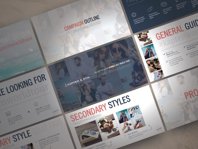 Sunnies World Tour Instagram Influencer Campaign design presentation powerpoint pitch deck conference creative direction branding