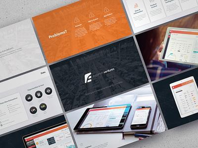 E-Commerce Analytics Platform Pitch Deck keynote presentation powerpoint pitch deck design creative direction conference branding