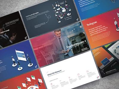 Financial Services Marketing Deck keynote presentation powerpoint pitch deck design creative direction conference branding