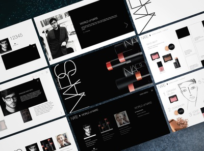 NARS Cosmetics Global E-Learning Design Vision