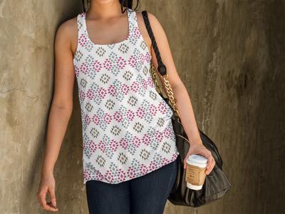Textile design - Aztec inspired print #1 fabric aztec textiles