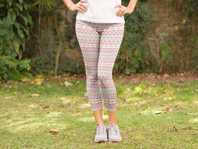 Textile design - Aztec inspired print #2 fabric aztec textiles
