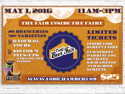 Event Promotion - Beer Fair advertising poster print