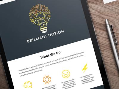 Website - Brilliant Notion