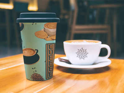 Coffee Shop pattern