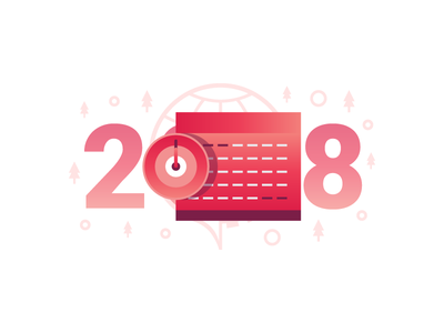 2018 illustration year new