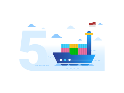 5. Ship Survey design ship survey illustration