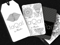 Clothing collection «LaQaL»: naming, logo and label design