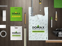 Building company naming, logo and corporate identity