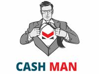 CashMan Logo - character creation