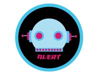 Robot Alert Icon