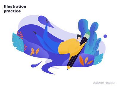 Pad  Illustration exercise illustrations ui
