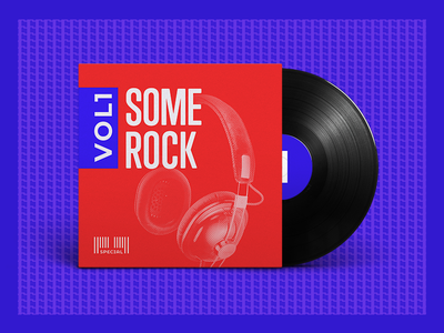 Mixtape Cover spotify typography photoshop vinyl rock graphic playlist cover mixtape